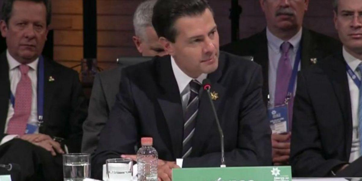 Peña Nieto destaca crecimiento de comercio por Alianza del Pacífico