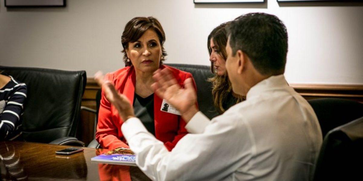 Rosario Robles, titular de SEDATU, continúa de gira por Nueva York
