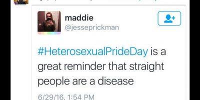 A raíz de que en junio se celebra el mes del orgullo gay en todo el mundo. Foto:Reproducción Twitter