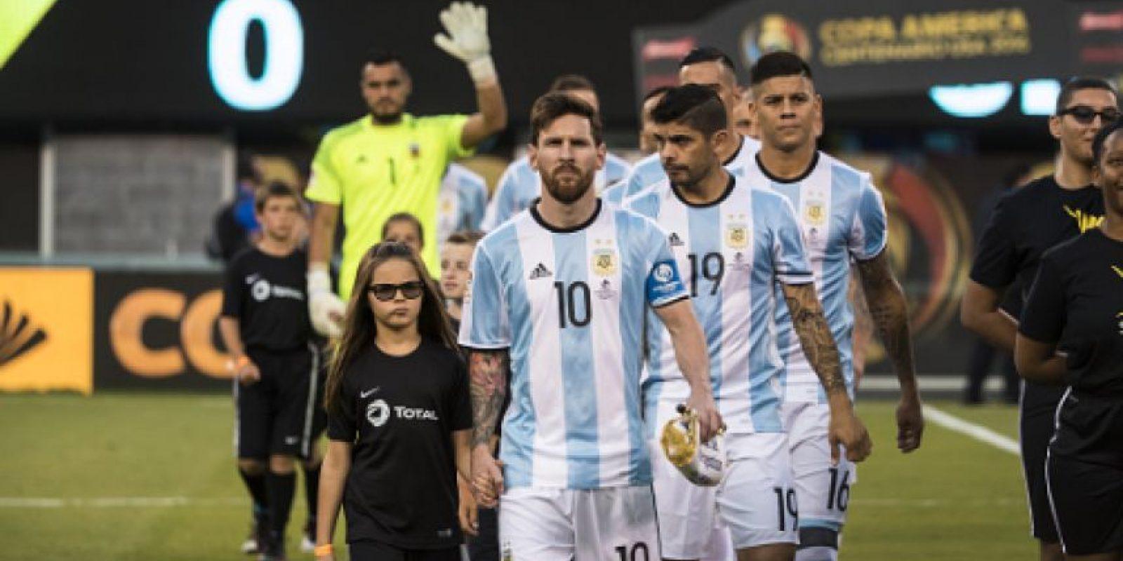 Lionel Messi no dejará a la Selección argentina Foto:Getty Images