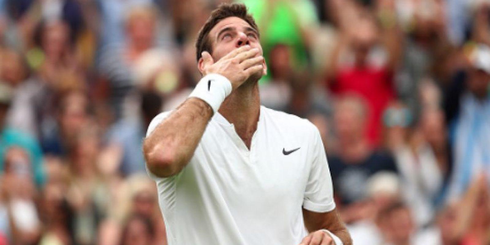 Del Potro está recuperando su mejor nivel y que mejor palestra que Wimbledon Foto:Getty Images