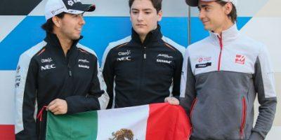 Los tres mexicanos vieron actividad en las pruebas para el Gran Premio de Austria Foto:Getty Images