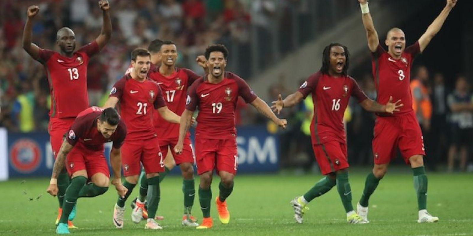 Los lusitanos han empatado en cinco ocasiones durante los 90 minutos en esta edición de la Eurocopa. Foto:Getty Images