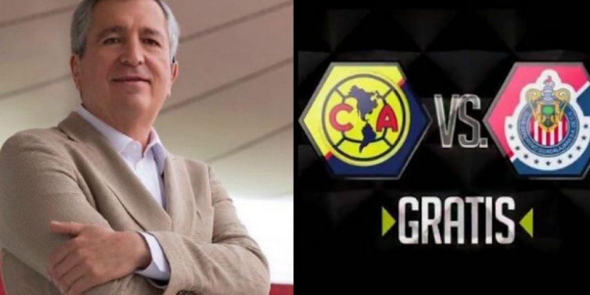 Vergara le responde a Televisa tras anuncio del Clásico gratis