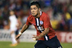 Con sólo 18 años, Sergio Díaz era titular en Cerro Porteño Foto:Getty Images