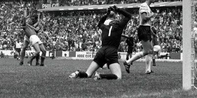 Luego se encontrarían en el Mundial de 1970 e Italia venció por 4 a 3 en un partido que necesitó de prórroga Foto:Getty Images