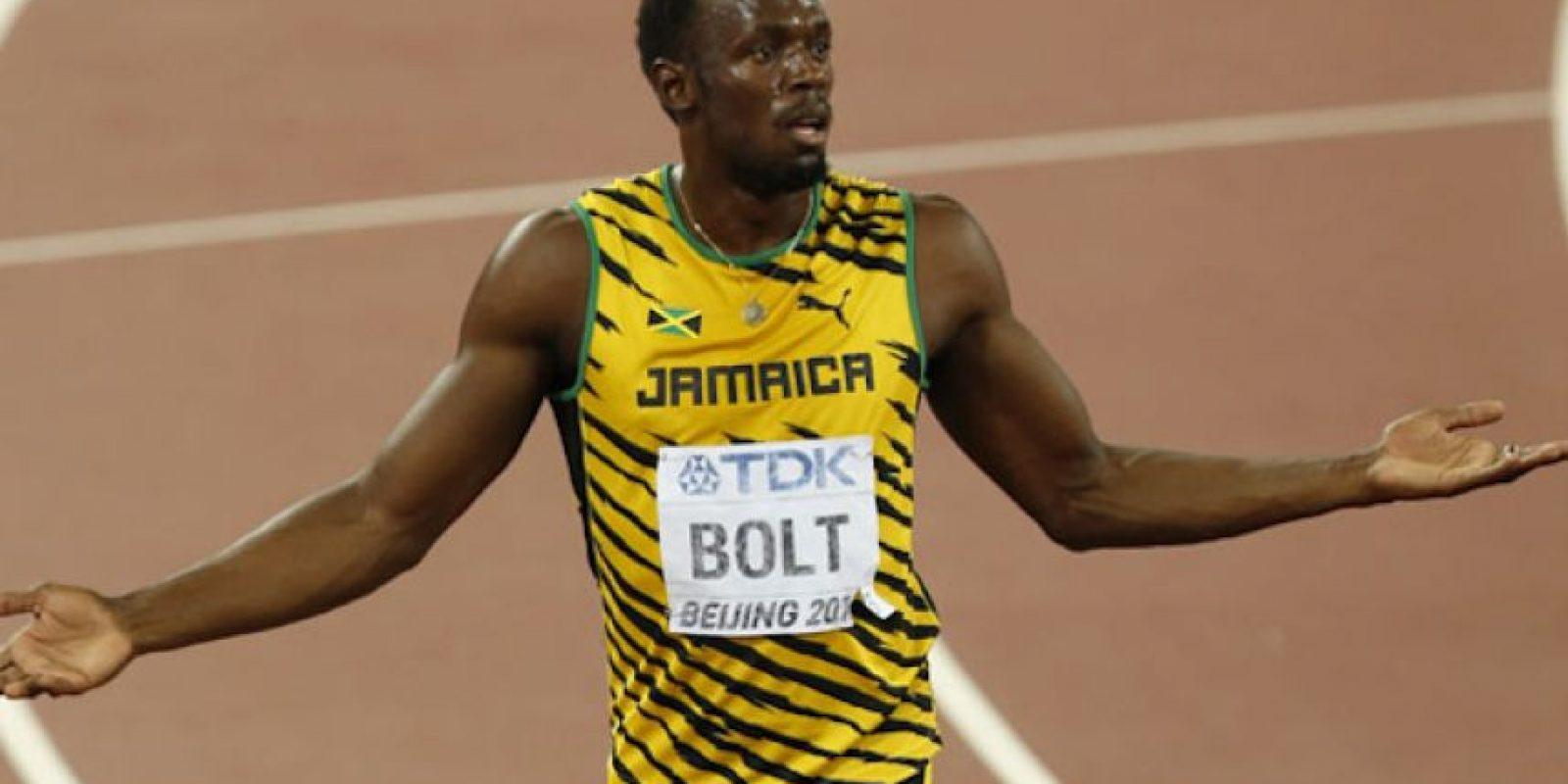 El hombre más rápido del planeta podría no asistir a la justa olímpica. Foto:AP