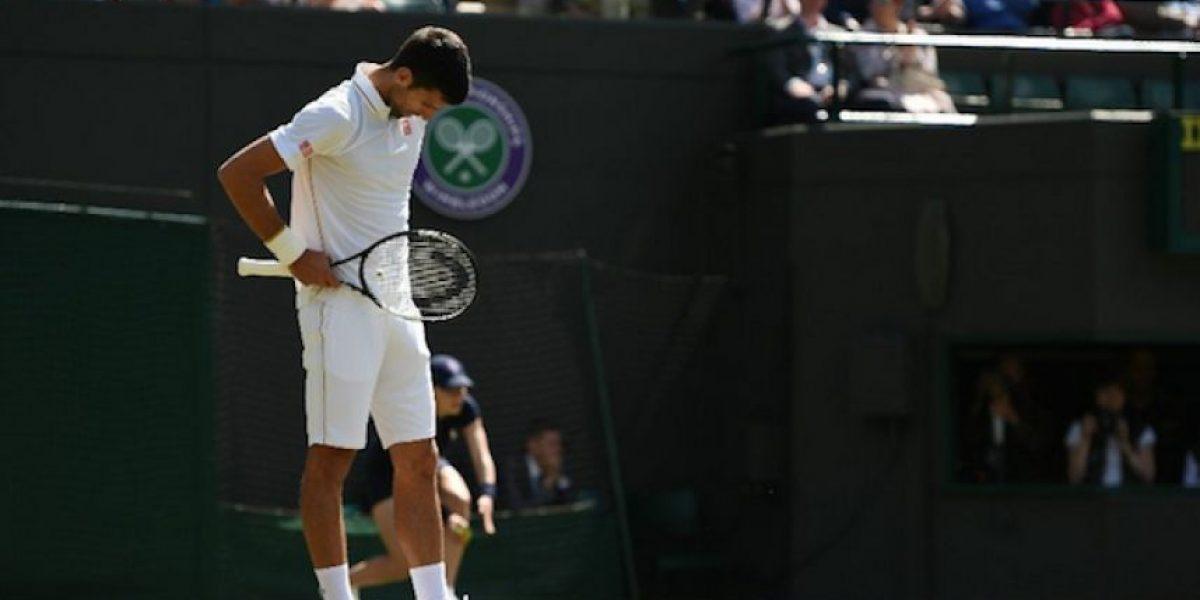 Novak Djokovic, eliminado de Wimbledon a manos de Querrey