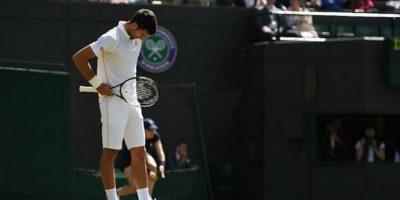 El actual monarca del Grand Slam inglés quedó fuera en la tercera ronda. Foto:Twitter