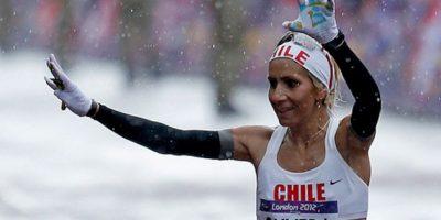 Érika Olivera, maratonista electa como abanderada de la delegación chilena para Río 2016. Foto:Twitter