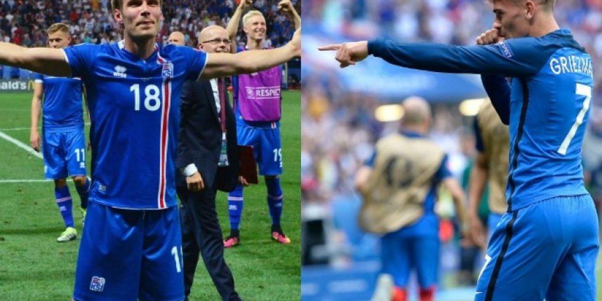 A qué hora juegan Francia con Islandia en los cuartos de la Eurocopa
