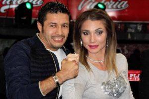 Sexy Star con Jhonny González Foto:Facebook