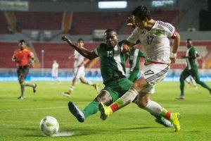 Tri sub 23 vence a Nigeria en amistoso previo a Río 2016 Foto:Mexsport