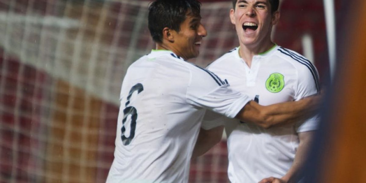 Tri sub 23 vence a Nigeria en amistoso previo a Río 2016