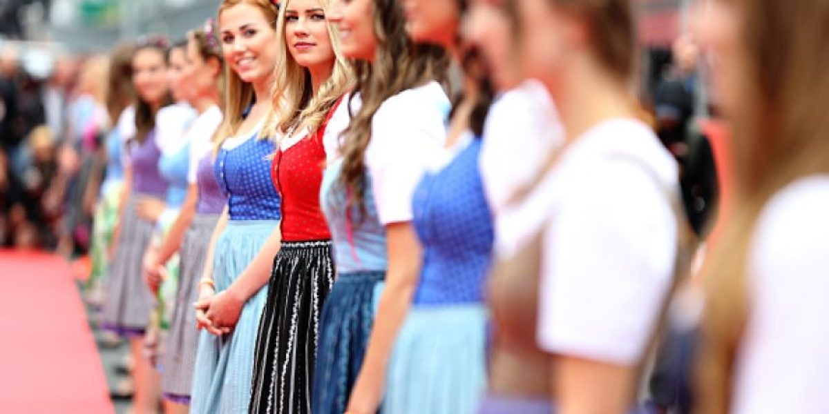 FOTOS: Las chicas del Gran Premio de Austria