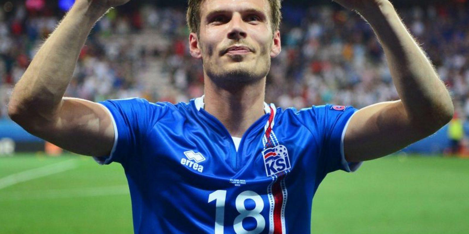 Islandia sorprendió a todos y ya está en cuartos de final de la Eurocopa Foto:Getty Images