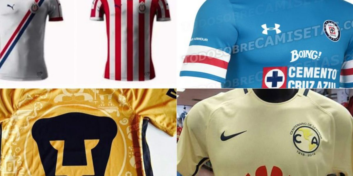 FOTOS: Mira los nuevos jerseys rumbo al Apertura 2016