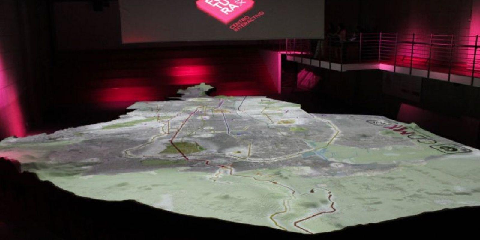 Los visitantes podrán ver una proyección de 12 minutos sobre la evolución de la urbe Foto:Nicolás Corte / Publimetro