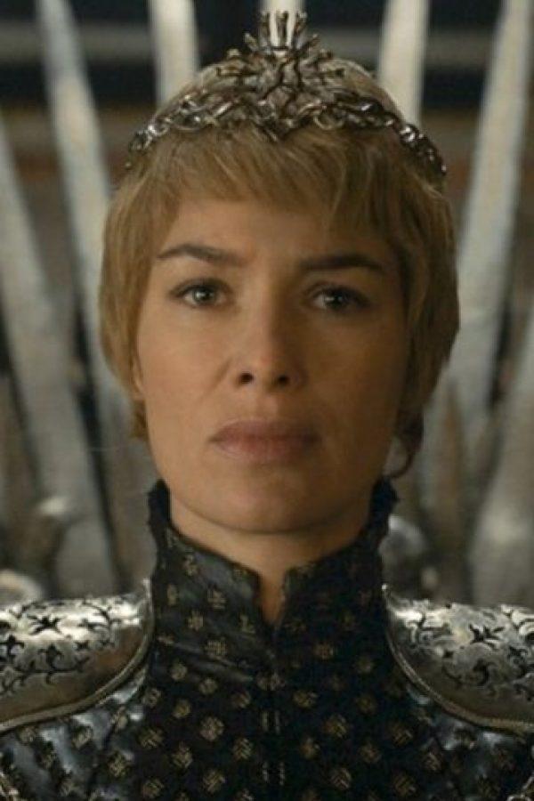 Cersei Lannister en la temporada 6 Foto:Vía HBO