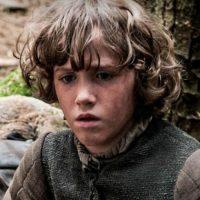Rickon Stark en la temporada 1 Foto:Vía HBO
