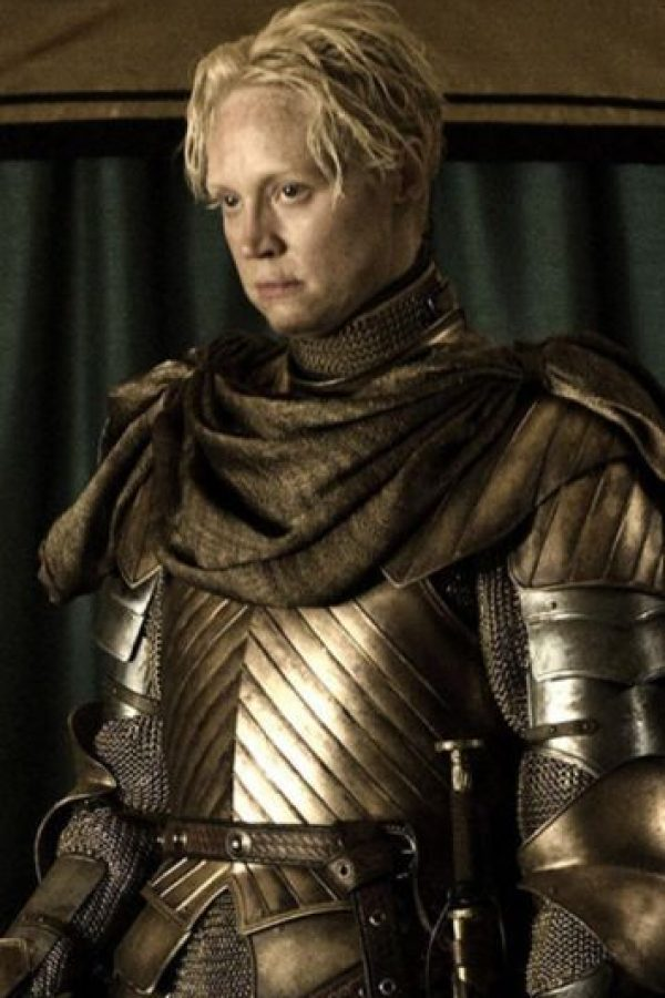 Brienne de Tarth en la temporada 6 Foto:Vía HBO