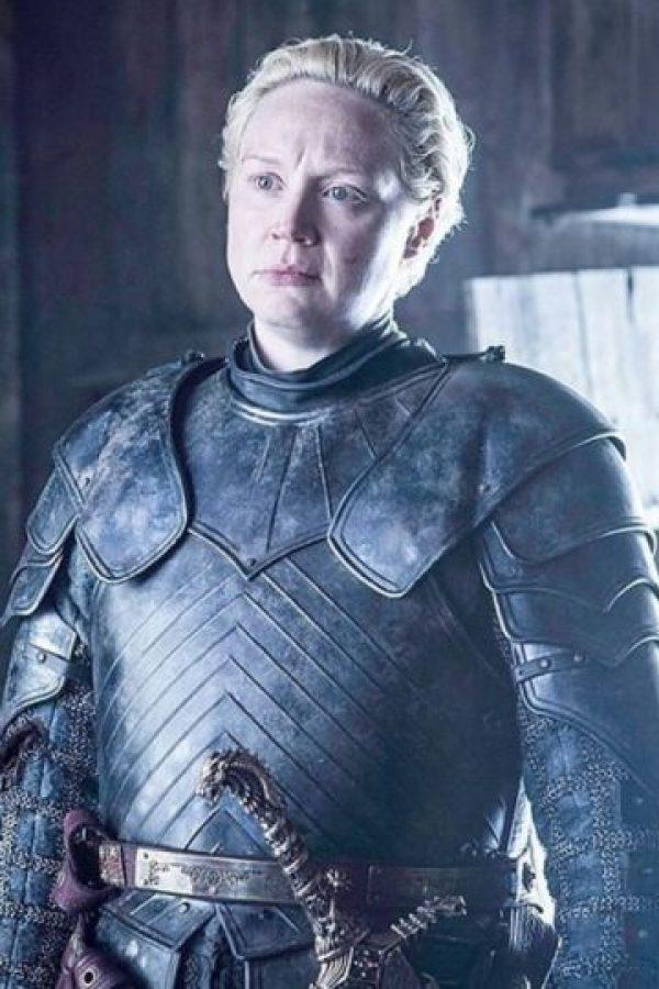 Brienne de Tarth en la temporada 2 Foto:Vía HBO