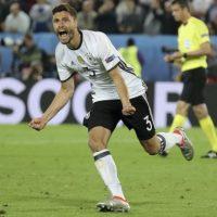 Alemania se impone en penaltis a Italia para avanzar a semifinales de la Euro Foto:AP