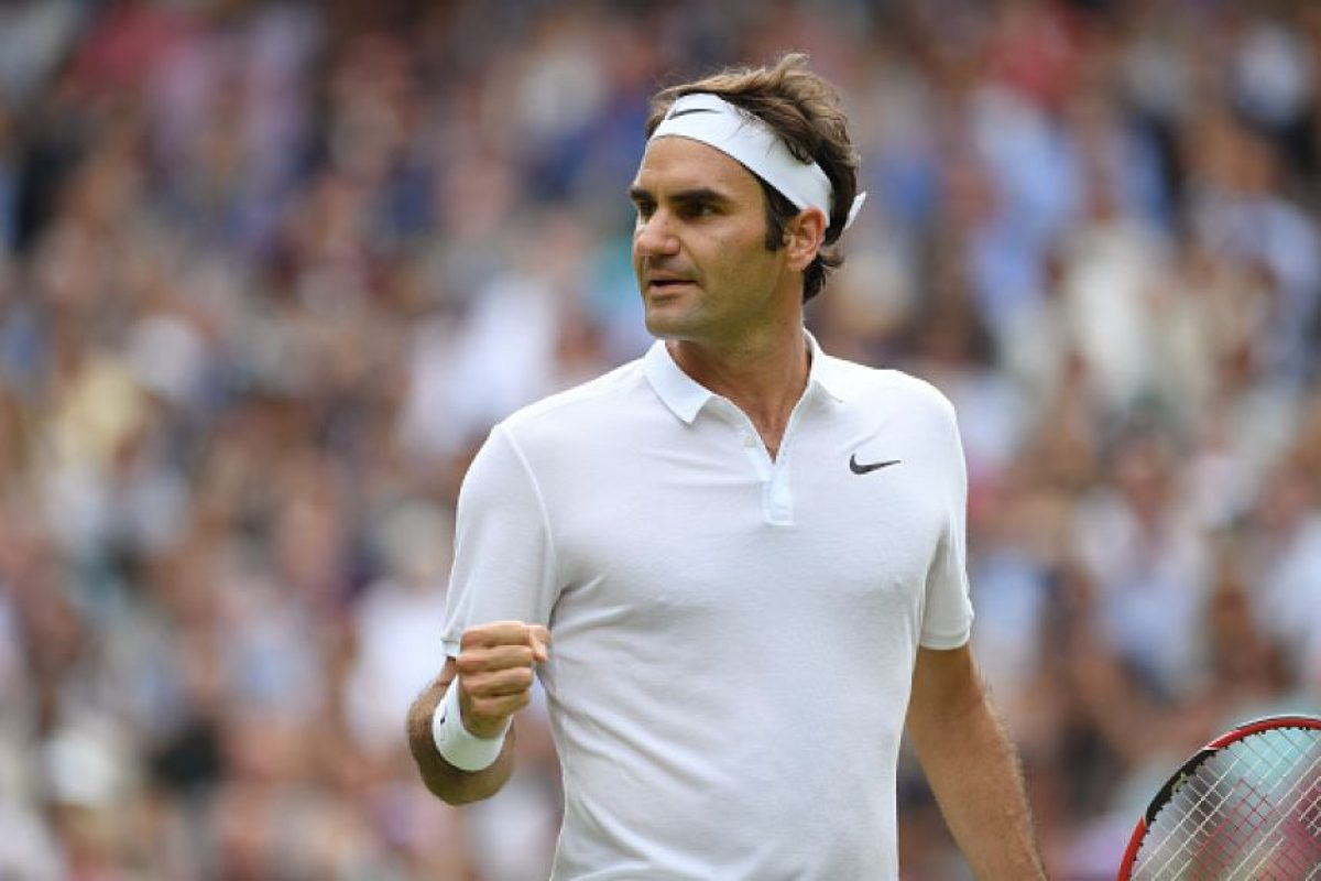 Roger Federer avanzó por 14ta ocasión a cuartos de final en Wimbledon Foto:Getty Images