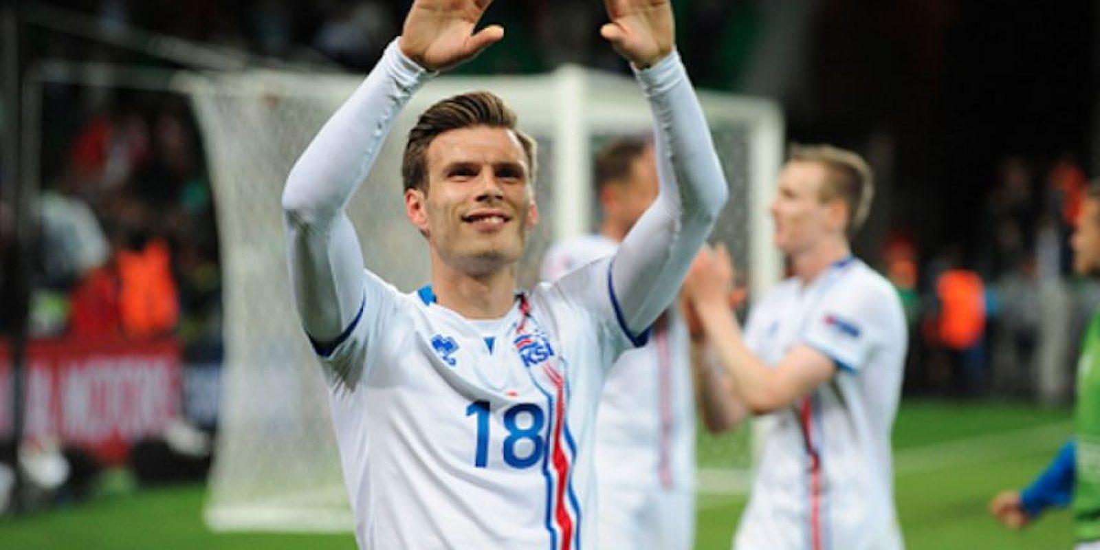 Theódór Elmar Bjarnason formó parte de la Selección islandesa que escribió su mejor historia durante la Euro de Francia 2016. Foto:Getty Images