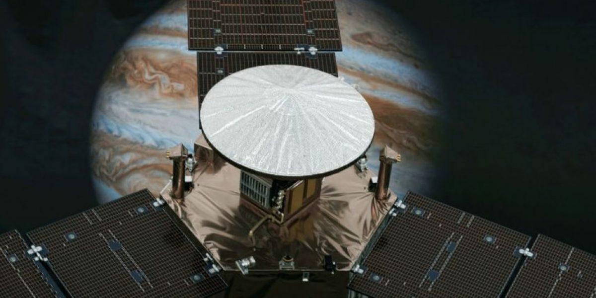 Sonda Juno entra en la órbita de Júpiter