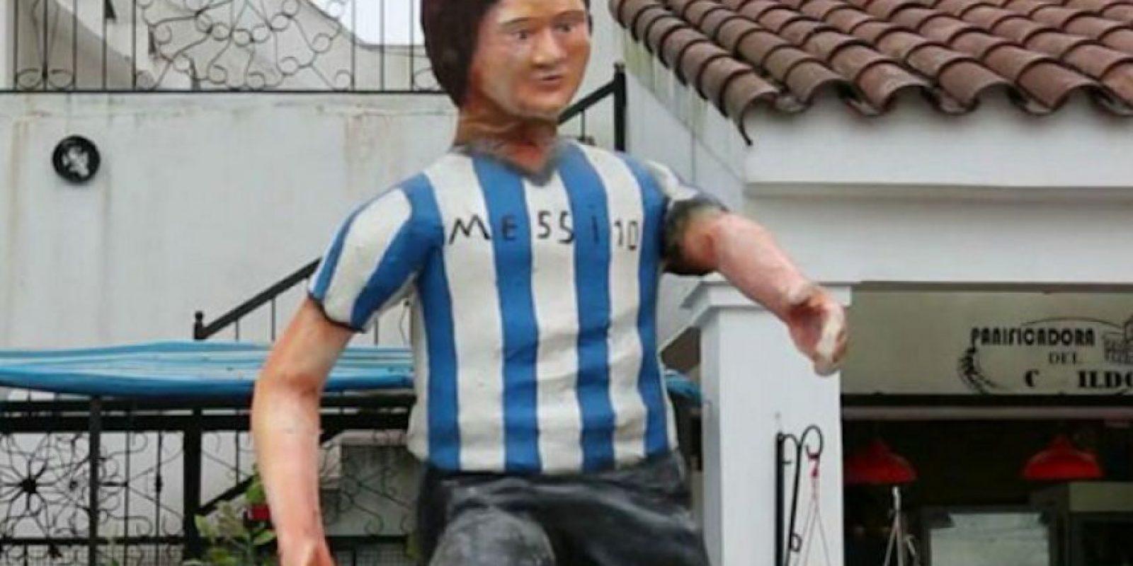 Esta peculiar representación se encuentra en Tucumán, Argentina. Foto:Twitter