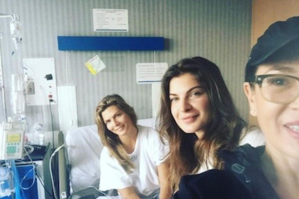 Monserrat Oliver se recupera de salmonelosis Foto:Instagram/yolandaamor
