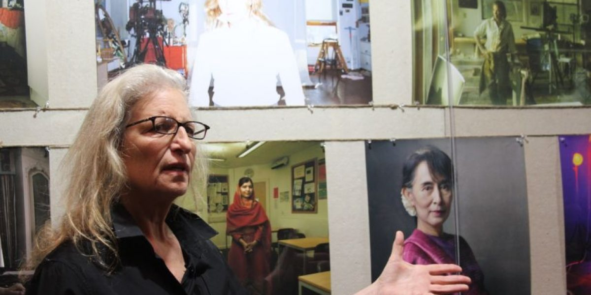 Annie Leibovitz y un sentido homenaje a la mujer actual en
