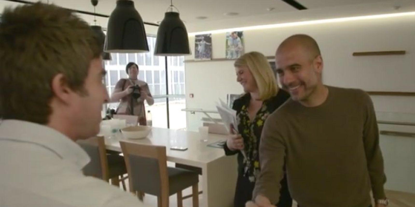 Incluso, Pep le jugó una broma Foto:Manchester City
