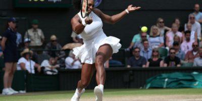 Seerena Williams está cerca de llegar a la Final nuevamente en Wimbledon Foto:Getty Images