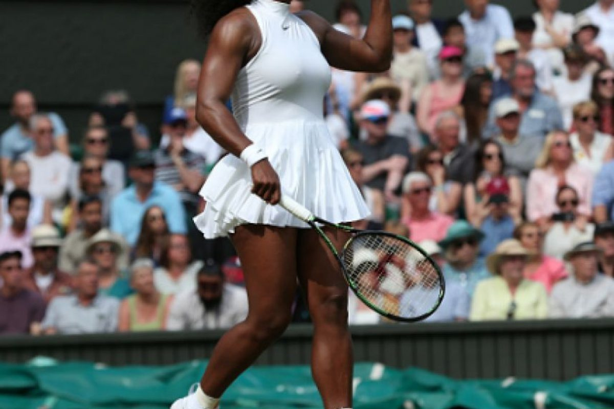Seerena Williams está cerca de llegar a la Final nuevamente en Wimbledon Foto: Getty Images