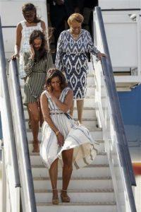 La hija del presidente tomará un año sabático Foto:AP