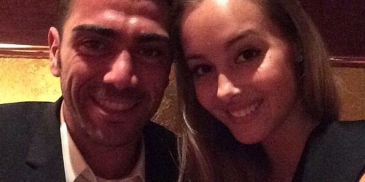 Pellé no se salvó ni de la furia de su novia Viky Varga