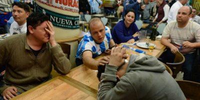 El fútbol argentino está en un hoyo y parece no salir de esa situación Foto:AFP