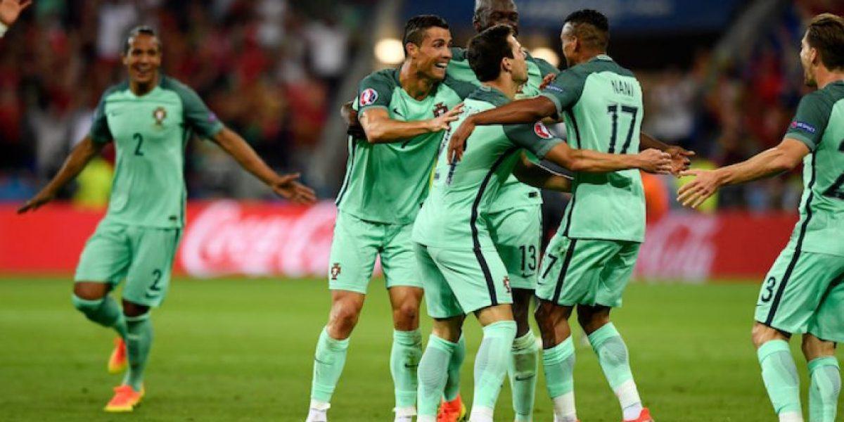 Portugal es el primer finalista tras vencer a Gales 2-0