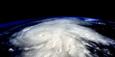 El huracán Patricia sobre México Foto:NASA