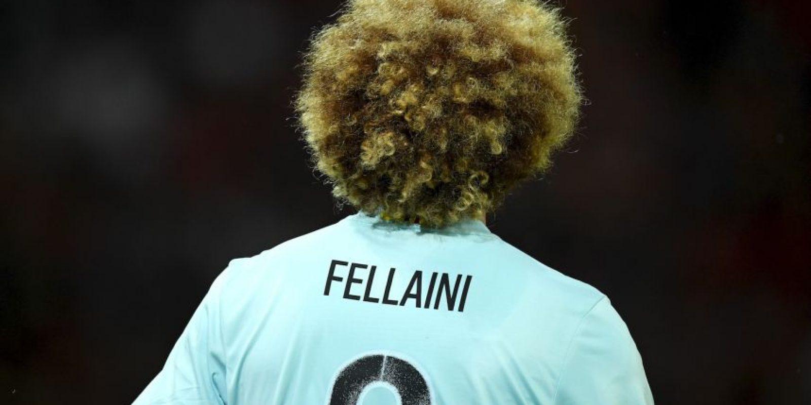 Es famoso por ser seleccionado de su país, jugar en el Manchester United y tener un gran afro Foto:Getty Images