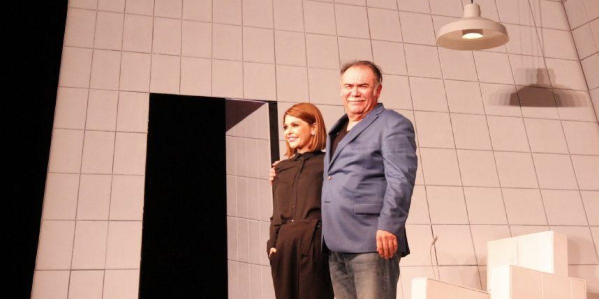 Itatí Cantoral y Jesús Ochoa estrenan la obra