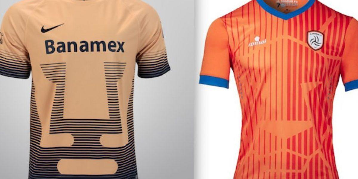 Equipo de Arabia Saudita usa escudo similar al de Pumas