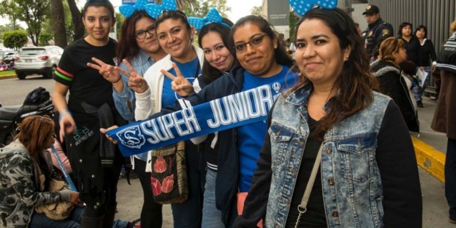9,500 fans asistieron al concierto de Super Junior en la Arena Ciudad de México Foto:JDS