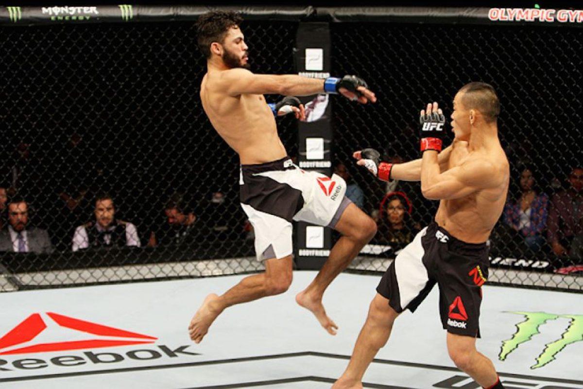 """Marco """"Psycho"""" Beltrán está de vuelta en el octágono del UFC Foto:UFC"""