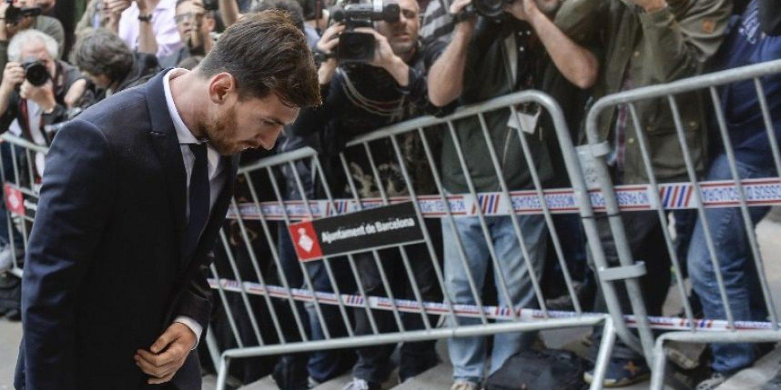Los abogados defensores apelarán a la condena contra Lionel Messi y su padre Foto:AFP