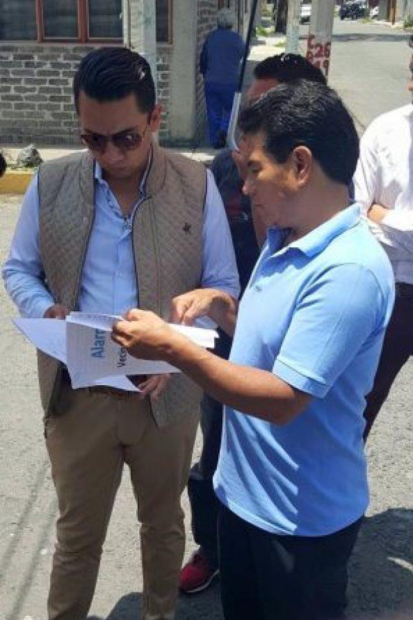 El funcionario fue víctimas de las críticas cuando Foto:Facebook @DenunciaEcatepec