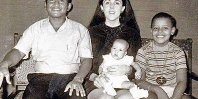 Sus padres se divorciaron cuando él tenía dos años Foto:Facebook: Barack Obama
