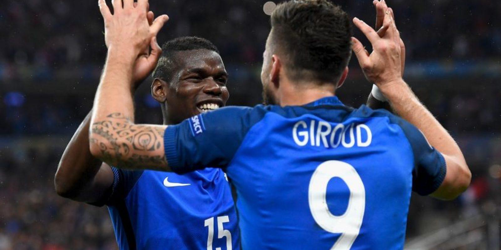 Francia, en tanto, aguantó la presión de enfrentar a la sorprendente Islandia y goleó por 5 a 2 Foto:Getty Images